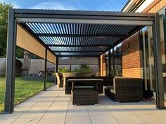 Gazebo Pergola, Outdoor Gazebos, Garden Gazebo, Outdoor Structures, Garden Structures, Indoor Garden, Teak Garden Furniture, Outdoor Fabric, Outdoor Decor