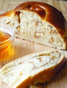 Apple Butter Challah (for Rosh Hashanah)
