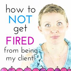 """""""How To Not Get Fired From Being One Of My Clients (and other essential boundaries in Leonie World!"""""""
