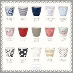 Which one of our new latte cups from the Autumn/Winter collection 2016 do you like the best? We love them all <3 Check out the whole collection here: http://catalogue.greengate-imagebank.dk/AutumnWinterCatalo…/ #Lattecups #Coffee #GreenGate #Autumn #Winter #2016 #AW16 #GreenGateOfficial @GreenGateOfficial