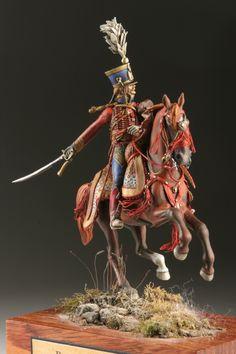 Colonel Barbanegre, 9ème Hussards. By Davide Chiarabella
