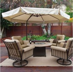 On Sale Bali Pro Square Rotating Cantilever Umbrella With Lights