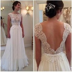 Cap Sleeve A-Line prom dress Lace Prom Dress Elegant Women dress,Party dress L136