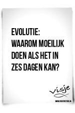 Evolutie versus schepping