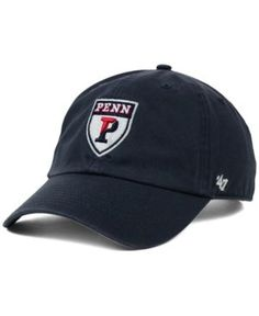 '47 Brand Pennsylvania Quakers Ncaa Clean-Up Cap - Blue Adjustable
