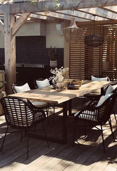 Backyard Patio Designs, Modern Backyard, Yard Design, Diy Patio, Yard Landscaping, Patio Ideas, Design Jardin, Boho Living Room, Concrete Patio