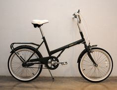 This is the Bobbin Shopper from UK. Looks like a modern reinvention of the Raleigh 20 to me.