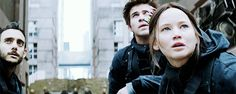 Katniss, Gale, & Homes #Squad451 #MockingjayPart2