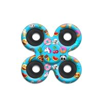 SPINNERS squad fidget toys Mojination Blue