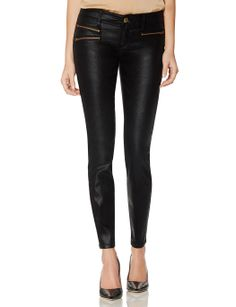 Coated Moto Legging Jeans | Stretch Denim | THE LIMITED