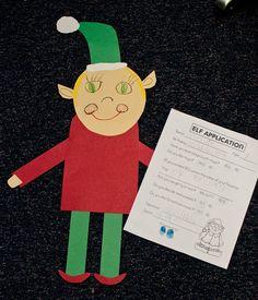 "First Read ""How Santa Got His Job""  Then: Elf Application Writing & Craft"