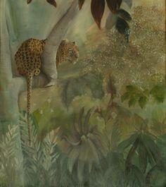 Brassai Gabi: Fabulous oil on canvas