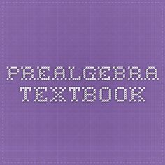 Online math book for 8th grade pre-algebra practice