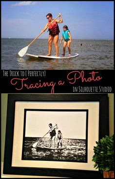 How to (Perfectly) Trace a Photo in Silhouette Studio #Silhouette #Silhouetteideas #silhouetteprojects #silhouettecameo #silhouettetutorials