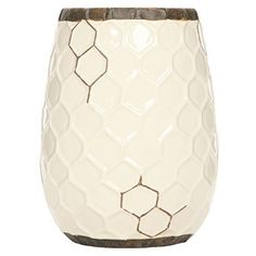 Ideal for parties, special events, spa and aromatherapy: Hosley's Ceramic Honeycomb Vase. Measures x x For decorative use only. Ideal for parties, special events, spa and aromatherapy. My Flower, Flower Vases, Flower Arrangements, Honeycomb Shape, Home Decor Vases, Vase Centerpieces, Ceramic Table, Accent Decor, Great Gifts