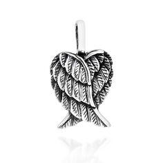 May 2018 - Aeravida Delightful Petite Heart-Shaped Angel Wings Sterling Silver Pendant (Handmade - Sterling Silver - Pendant), White Tribal Tattoos, Tattoos Skull, Celtic Tattoos, Back Tattoos, Mom Tattoos, Dreamcatcher Tattoos, Wing Tattoos, Sleeve Tattoos, Tatoos