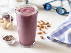 Recover after a tough workout and get important nutrients back into your body with this tasty cherry almond smoothie. Natalie Coughlin uses this easy and healthy smoothie recipe after her swim workouts!