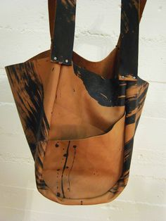 Image of Dolores Calligraphic Leather Bag