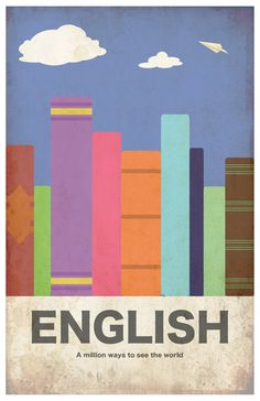 English 11x17 minimalism poster print  Graduation by EskimoChateau, $16.00