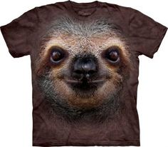 Sloth Face Leniwiec - Koszulka The Mountain - The Mountain - www.veoveo.pl