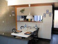 Essbereich mit Durchreiche zur Küche Bathroom Medicine Cabinet, Cottage House