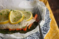 Fish Baked in Parchment-Healthy And Tasty Seafood Recipes Ideas