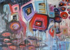 wynne parkin canadian painter new paintings contemporary abstract wildlife