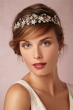 Trina Headband from Paris by Debra Moreland for BHLDN