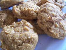 Stevia Recipes - Cooking With Stevia: Sugar Free Low Glycemic Pumpkin Cookies Recipe Using Stevia