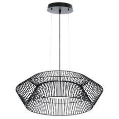 Eglo Piastre Hanglamp Ø 58 cm - Zwart - afbeelding 1