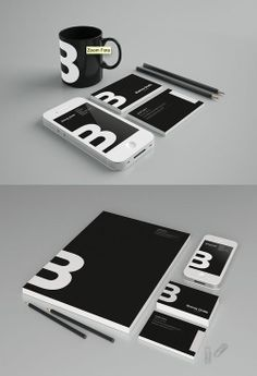 Nice brand identity presentation #branding #logo ... / D E S I G N on imgfave