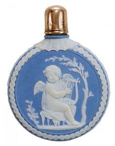 Wedgwood Jasperware Perfume Bottle : Lot 650