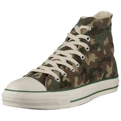 size 40 74add 154eb Converse All Star Chuck Taylor Sun Faded Camouflage Hi Casual Shoe Green