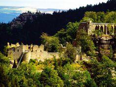 Burg Oybin - Zittauer Gebirge