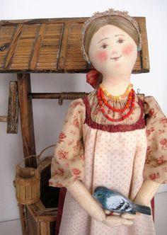Bambola Golubka di TinaVanDijk su Etsy