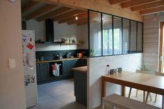 Cuisine on pinterest thermomix plan de travail and lasagne - Ouverture cuisine sur salon ...