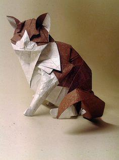 chat origami (Katsuta Kyohei)