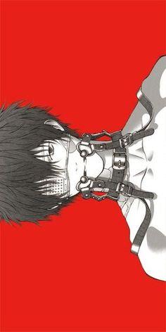 Dark anime boy Ero Guro