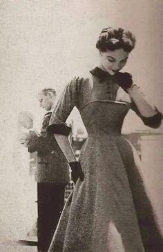 Lillian Bassman Junior Bazaar 1954