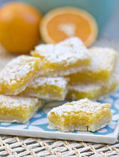 Erica's Sweet Tooth » Orange Bars