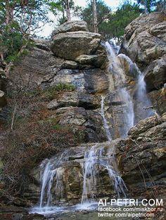 Водопады Яузлар, р.Яузлар, Ялта  - http://ai-petri.com/crimean-waterfalls/105-vodopady-yauzlar-ryauzlar-yalta.html