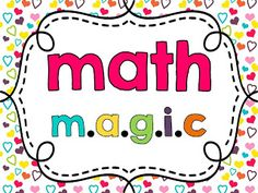 Life Is Sweet....In Kindergarten!: Getting Ready for Math Magic