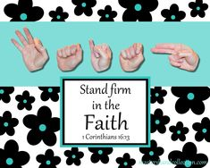 Watch, stand fast in the faith, be brave, be strong. Bible Verses For Hard Times, Bible Verses About Faith, Bible Lessons For Kids, Bible For Kids, Scripture Study, Bible Scriptures, Christian Women Blogs, Christian Love, Jesus Today