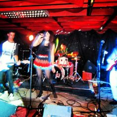 Stanford performing live at the Ragazzi Live bar in Cape Town South Africa
