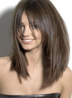 Attractive Medium Straight Capless Synthetic Hair Wig 16 Inches