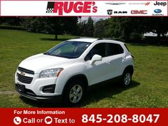 2016 *Chevrolet* *Chevy*  *Trax* *LT*  14k miles $19,951 14726 miles 845-208-8047 Transmission: Automatic  #Chevrolet #Trax #used #cars #RugesAuto #Rhinebeck #NY #tapcars