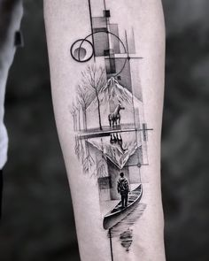 Cool Forearm Tattoos, Leg Tattoos, Body Art Tattoos, Sleeve Tattoos, Leg Tattoo Men, Simple Tattoos For Guys, Rose Tattoos For Men, Unique Tattoos, Wolf Tattoo Design