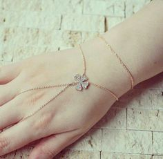 Luv it Fancy Jewellery, Stylish Jewelry, Cute Jewelry, Jewelry Accessories, Jewelry Design, Fashion Jewelry, Ring Bracelet Chain, Slave Bracelet, Hand Bracelet