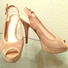 Enzo Angiolini Beige Stilettos These beige 7.5 stilettos are a great staple shoe. Minimally worn. Enzo Angiolini Shoes