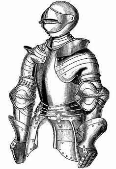 Knight in shining Armor by Home and Heart, via Flickr